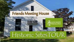 Amesbury Treasures Tour Stop - Friends Meeting House @ Friends Meetinghouse | Amesbury | Massachusetts | United States